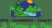 Logo Gîte-Chambre-Chalet St-Mathieu-du-Parc